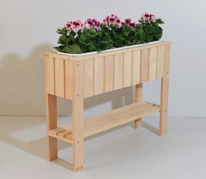 lillekast, puidust lillekast, maitsetaimede kast, taimekast
