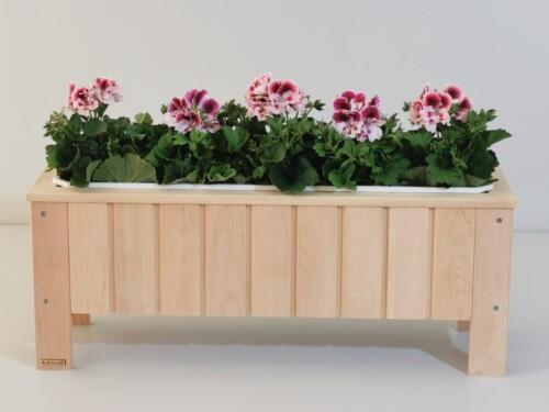 lillekast, puidust lillekst, taimekast, maitsetaimede kast