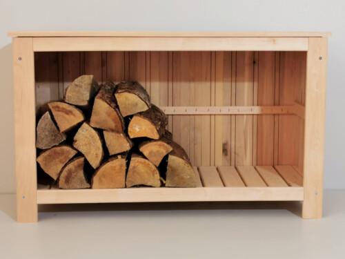 riiul, puidust riiul, puuriiul, põrandariiul, kaminapuu hoidja, puuriiul