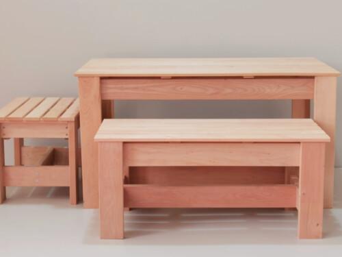 puidust laud, laud, söögilaud, täispuidust laud